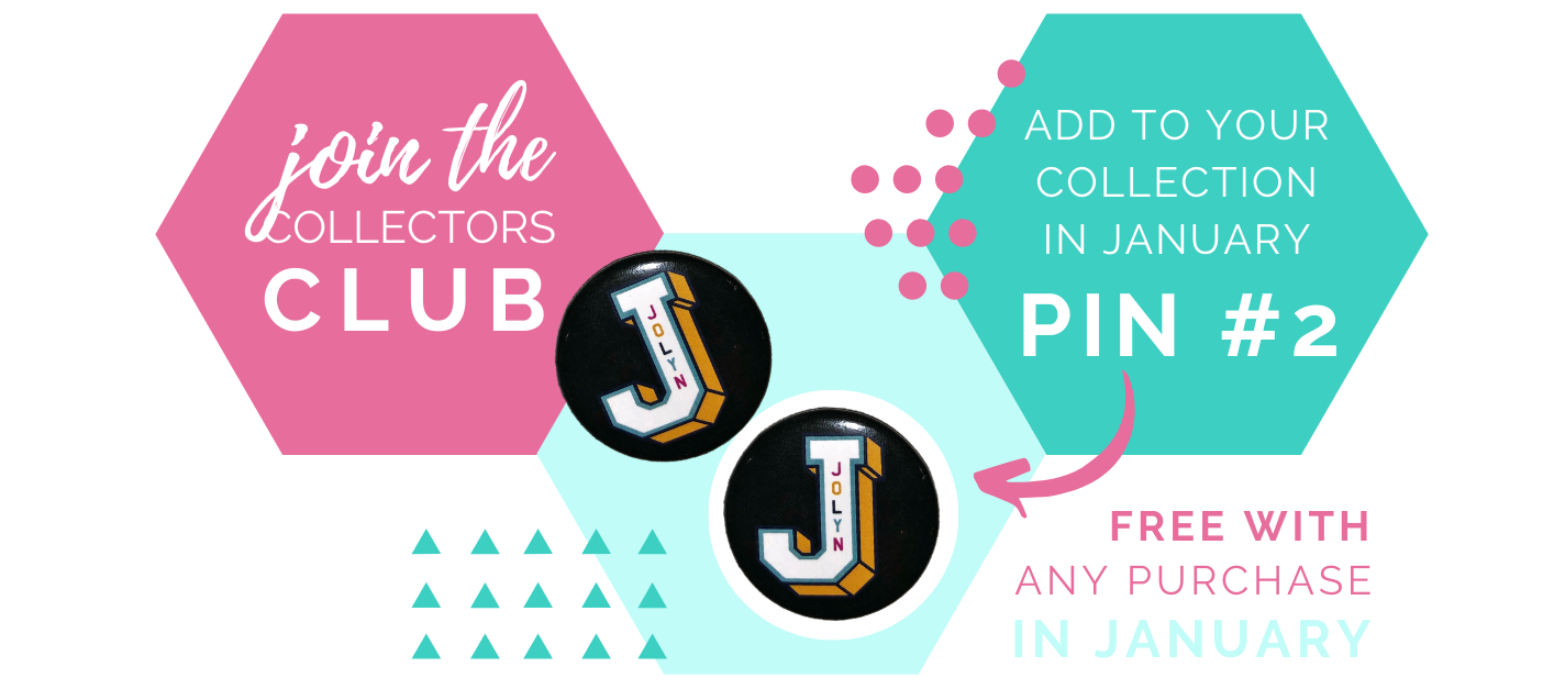 jolyn australia swimwear blog collectors club pins pin of the month January 2020
