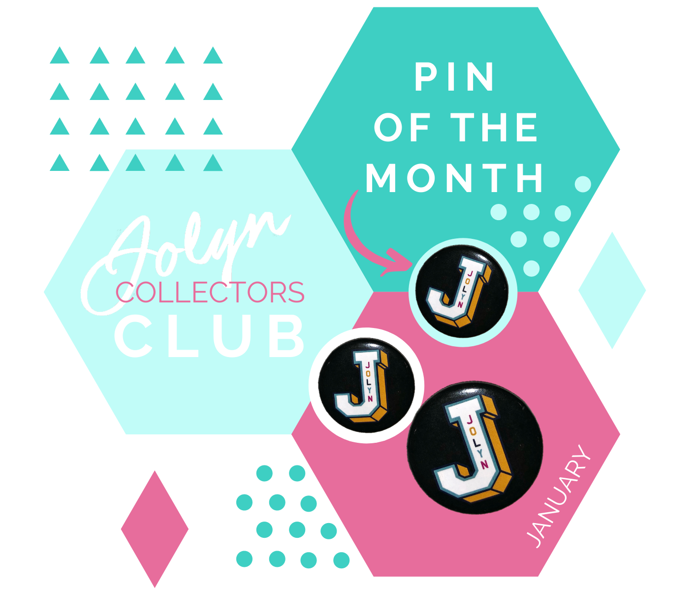 jolyn australia swimwear blog collectors pins pin of the month January 2020