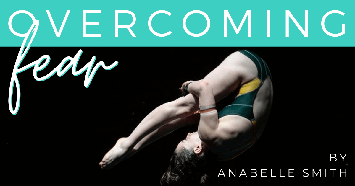 JOLYN Australasia swimwear blog - Anabelle Smith Olympic diver - overcoming fear