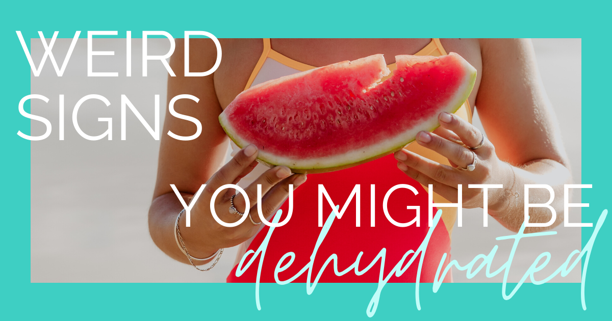 JOLYN Australia Swimwear Blog - weird signs your might be dehydrated