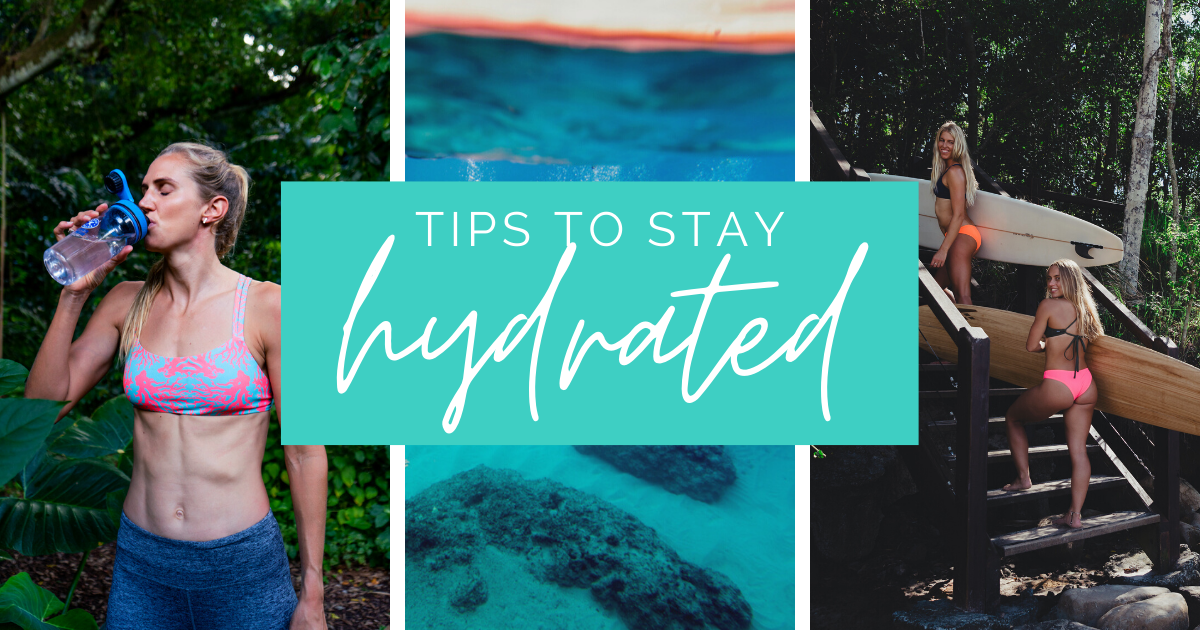 JOLYN Australia Swimwear Blog signs you're dehydrated