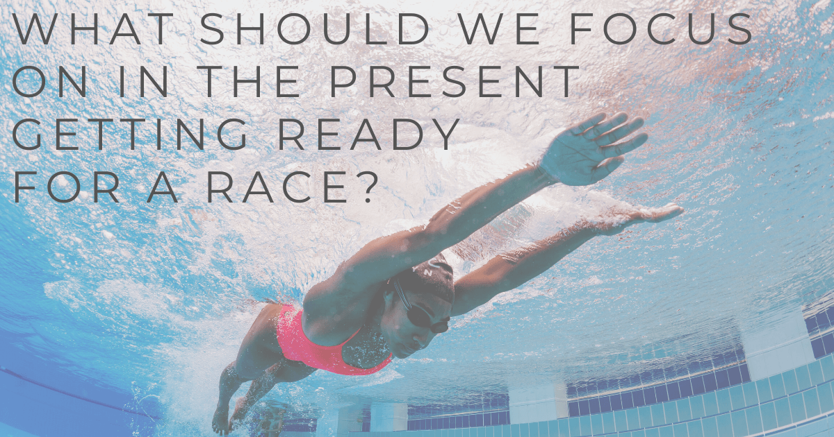 JOLYN Australia sports swimwear blog - Carol Fox expert Q&A - what should we focus on in the present getting ready for a race?
