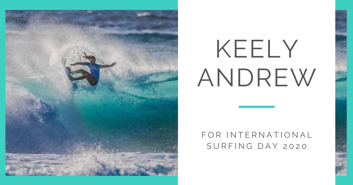 JOLYN Australia Swimwear blog - International Surfing Day Keely Andrew