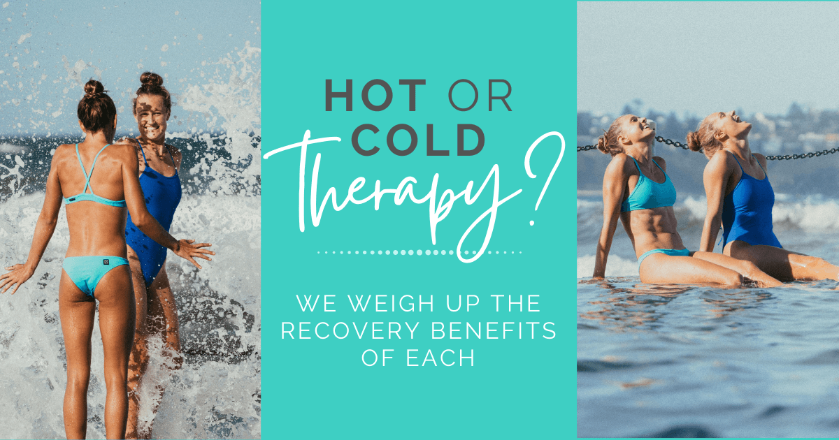 JOLYN Australia womens sports swimwear blog post - hot or cold recovery therapy?