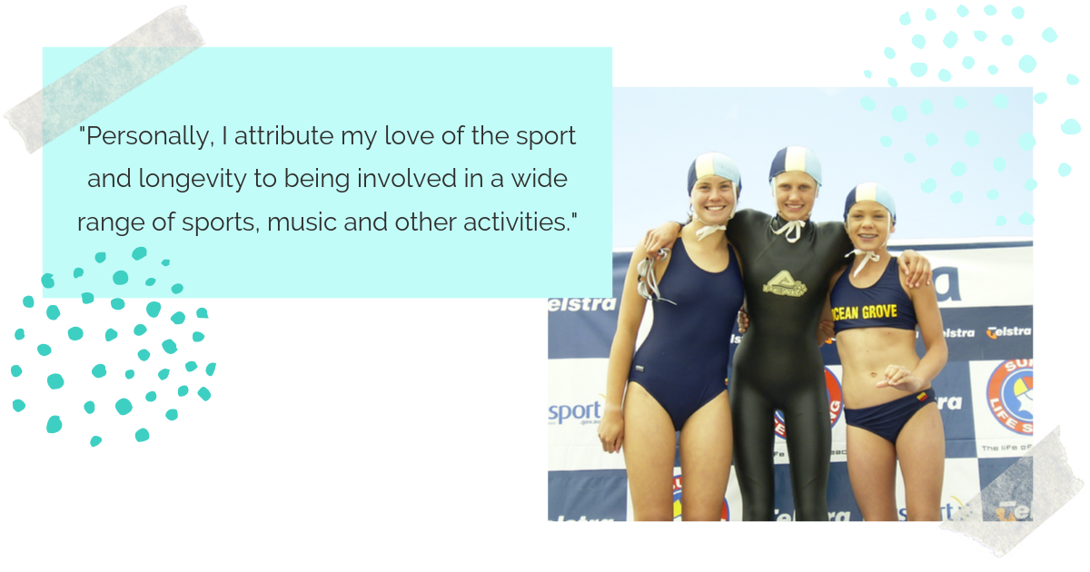 Jolyn Australia Swimwear Harriet Brown Junior Athlete Success