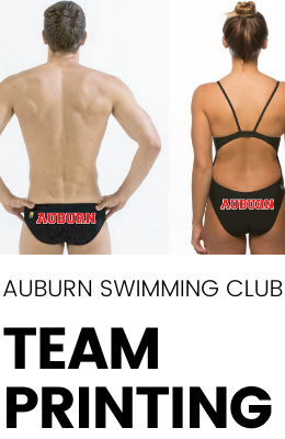 Auburn Swimming Club Printing