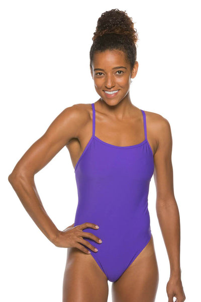 Brandon Fixed-Back Onesie - Purple