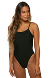 Perry Fixed-Back Onesie - Black