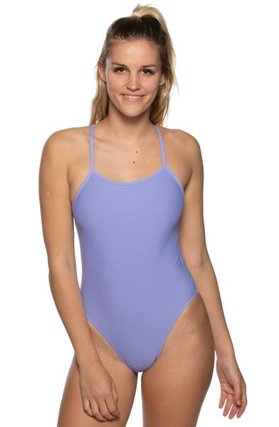 Brandon Fixed-Back Onesie - Lavender