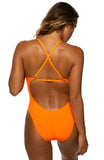Brandon Fixed-Back Onesie - Sunkist