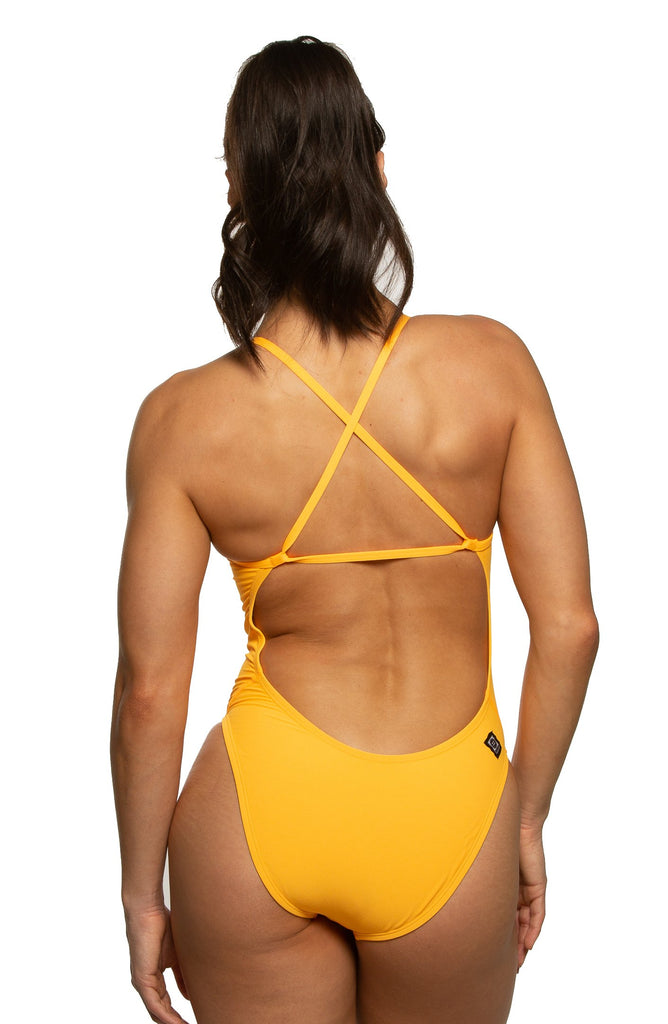 Brandon Fixed-Back Onesie - Mango