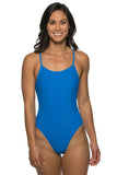 Chevy Fixed-Back Onesie - Water Blue