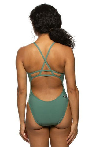 Darren Fixed-Back Onesie - Sage