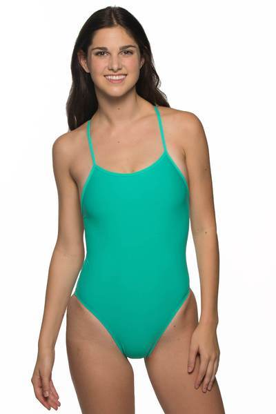 Darren Fixed-Back Onesie - Seafoam