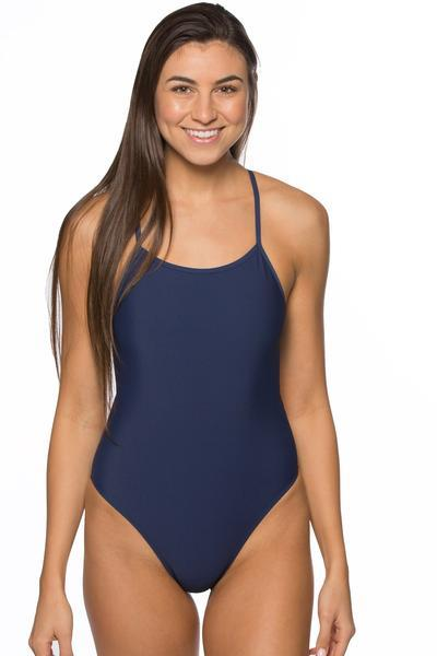 Darren Fixed-Back Onesie - Navy