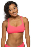 Fendrick Fixed-Back Top - Hot Pink