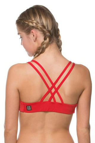 Fendrick Fixed-Back Top - Red
