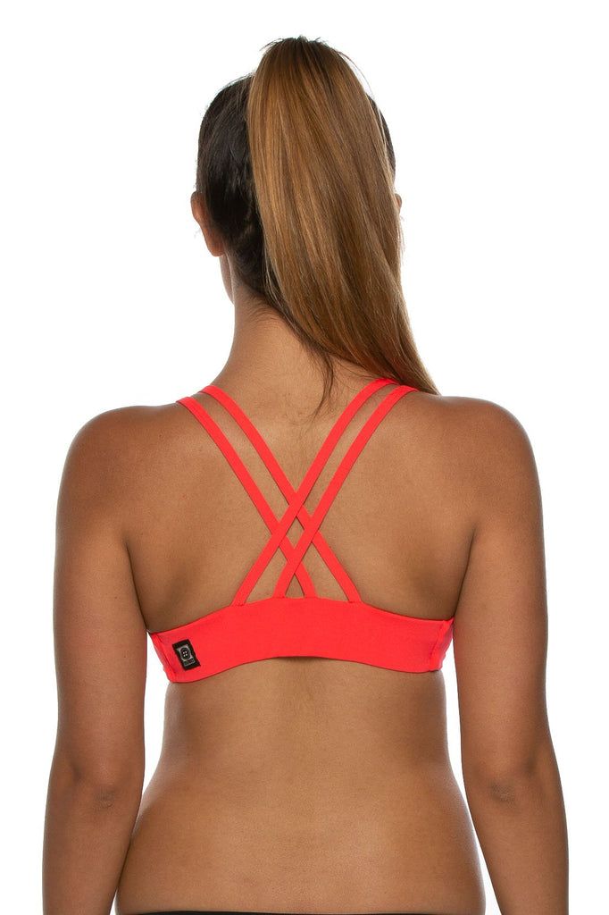 Fendrick Fixed-Back Top - Strawberry