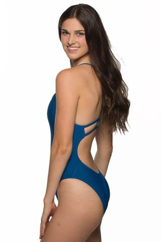 Darren Fixed-Back Onesie - Deep Blue Sea