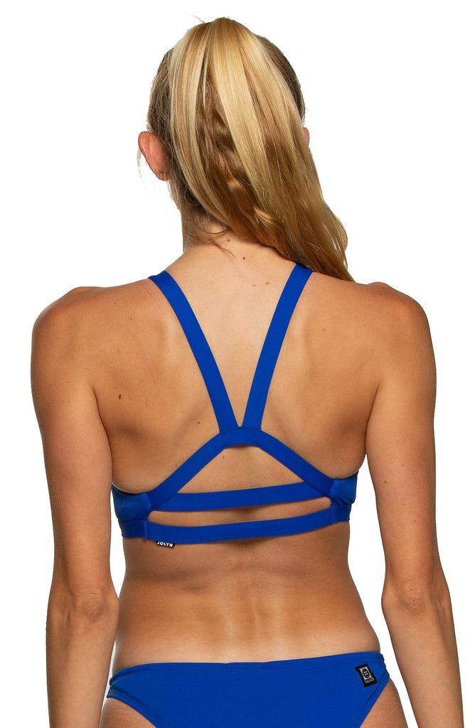 Kaylee Fixed-Back Top - Blueberry