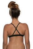 Merlin Fixed Back Top - Black