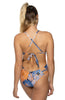 Printed Nico Tie-Back Onesie - Wildflower