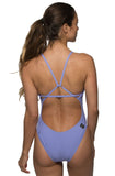 Perry Fixed-Back Onesie - Lavender