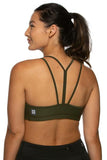 Riley Sports Bra - Army