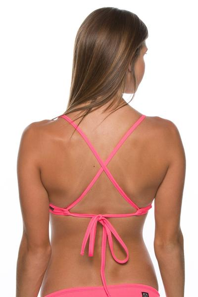 Triangle Top - Hot Pink