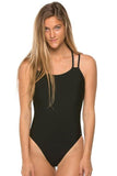 Murray Fixed-Back Onesie - Black