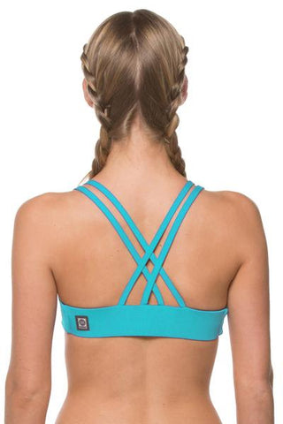 Fendrick Fixed-Back Top - Hawaii Blue