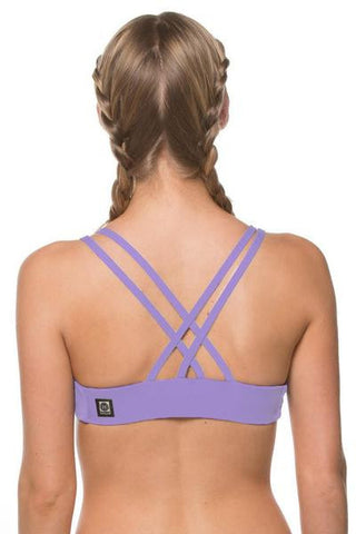 Fendrick Fixed-Back Top - Lavender
