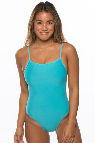 Scotty Fixed-Back Onesie - Hawaii Blue