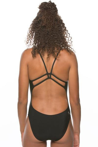 Drew Fixed-Back Onesie - Black
