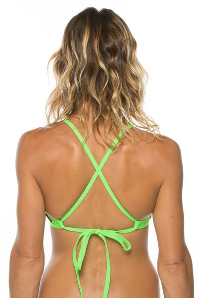 Triangle Top - Lime