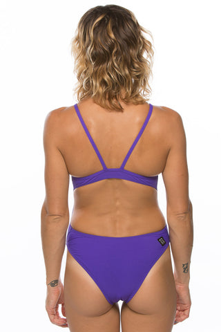 Kevin Fixed Back Onesie - Purple