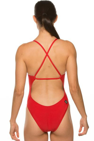 Scotty Fixed-Back Onesie - Red
