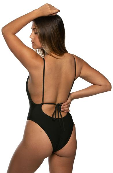 Steve Beach Lounger Onesie - Black