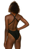Tanya Fixed Back Onesie - Black