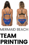 Mermaid Beach SLSC Printing