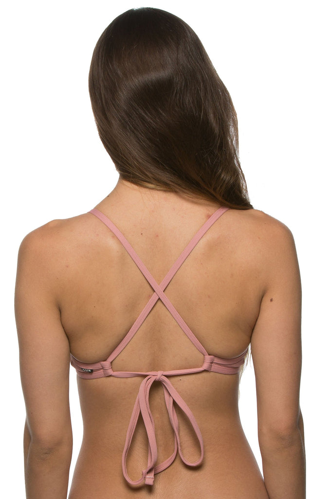 Triangle Top - Dusty Rose