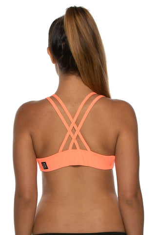 Fendrick Fixed-Back Top - Papaya