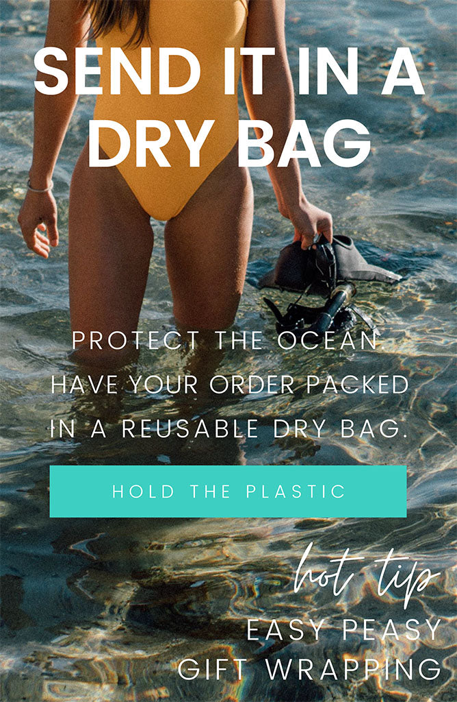 Make my order PLASTIC FREE ♻️
