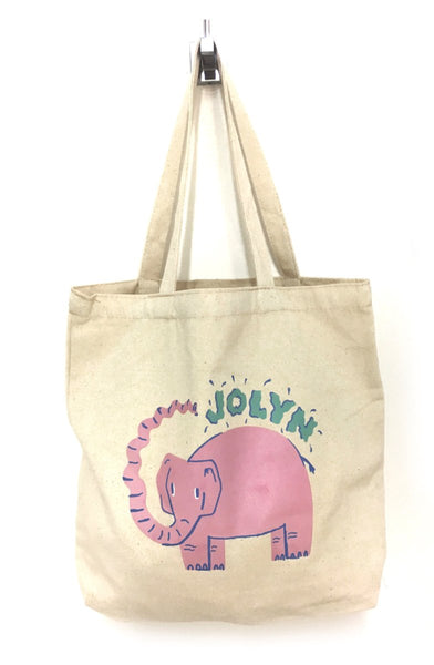 Canvas Tote Bag - Enviro Elephant