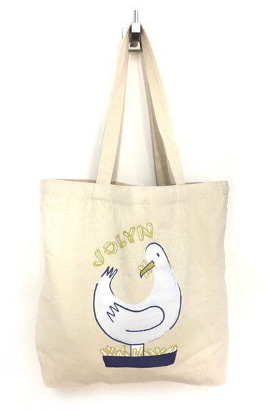 Canvas Tote Bag - Salty Seagull