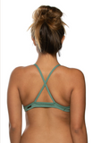 Merlin Fixed Back Top - Sage