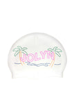 Swim Cap - Tropical Palm