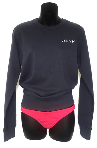 JOLYN Sweatshirt - Petrol Blue