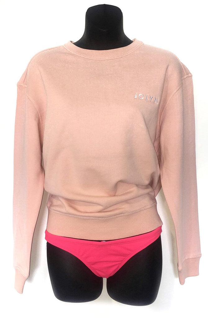 JOLYN Sweatshirt - Powder Pink