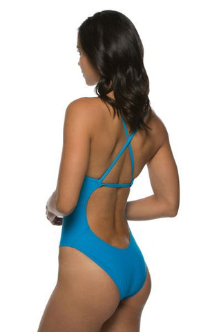 Scotty Fixed-Back Onesie - Electric Blue